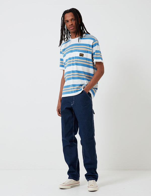 Stan Ray 80's Painter Pant (Straight) - Washed Denim