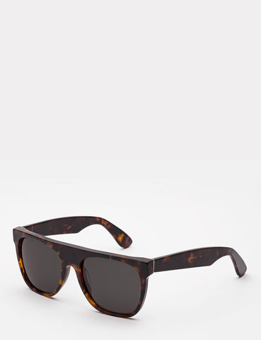 Super Flat Top Sunglasses - Havana Black