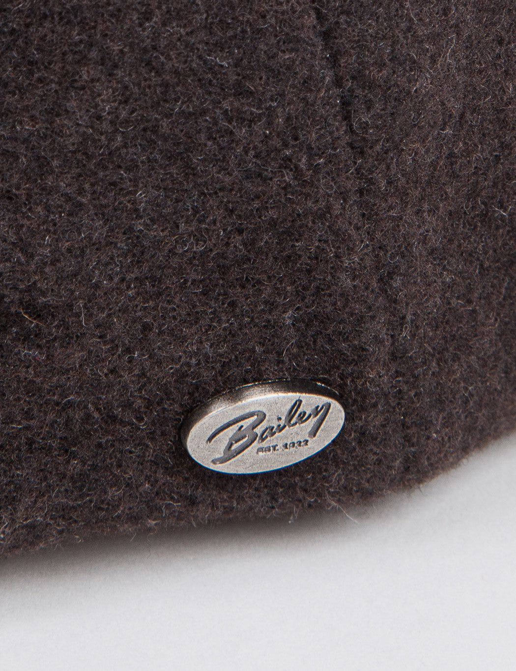 Bailey Galvin Wool Newsboy Cap - Brown