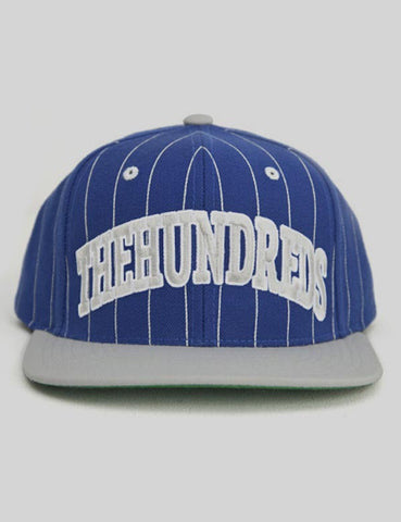The Hundreds Pins Snapback Cap - Blue/Grey