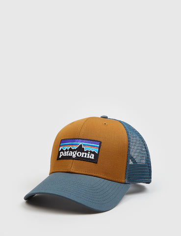 Patagonia P-6 Logo Trucker Hat - Bear Brown
