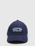 Patagonia P-6 Logo Stretch Fit Hat - Navy
