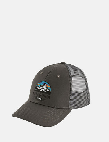 343ecbdd2e6 Patagonia Fitz Roy Scope LoPro Trucker Cap - Forge Grey ...