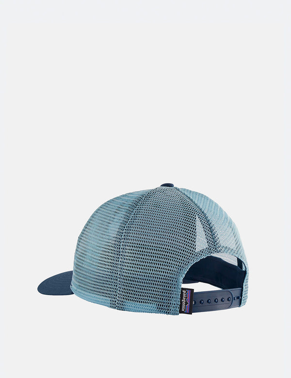 Patagonia Protect Your Peaks Trucker Hat - Stone Blue