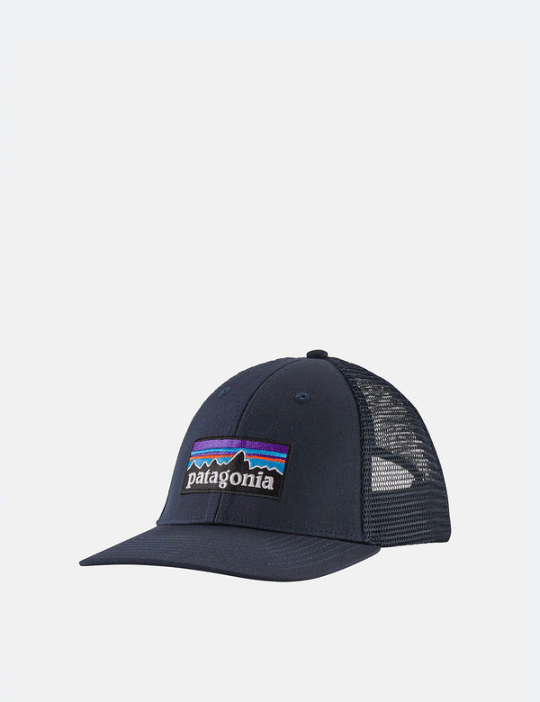 Casquette Trucker Patagonia P-6 Logo LoPro - Navy Blue