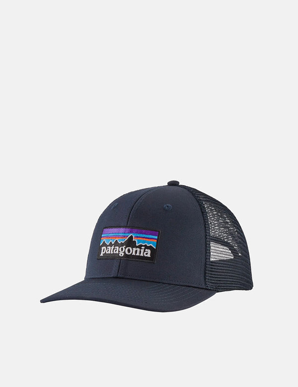 Casquette Trucker Patagonia P-6 Logo - Navy Blue