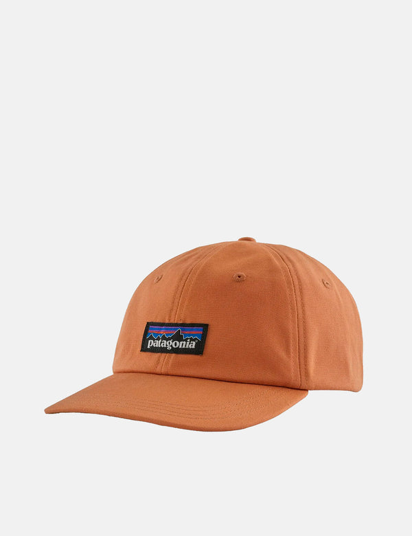 Casquette Patagonia P-6 Label Trad - Toasted Peach