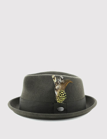 Bailey Cloyd Trilby Hat - Grey