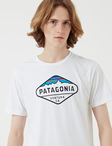 Patagonia Fitz Roy Crest T-Shirt - White