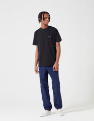 Patagonia P-6 Logo Pocket T-Shirt - Black