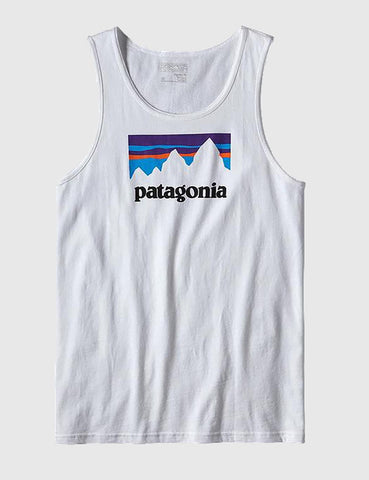 Patagonia Shop Sticker Vest - White