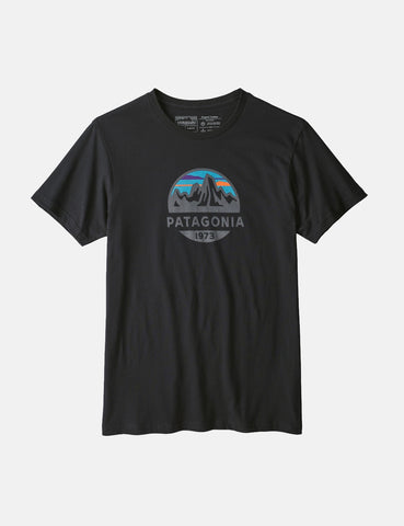 Patagonia Fitz Roy Scope Organic T-­Shirt - Black