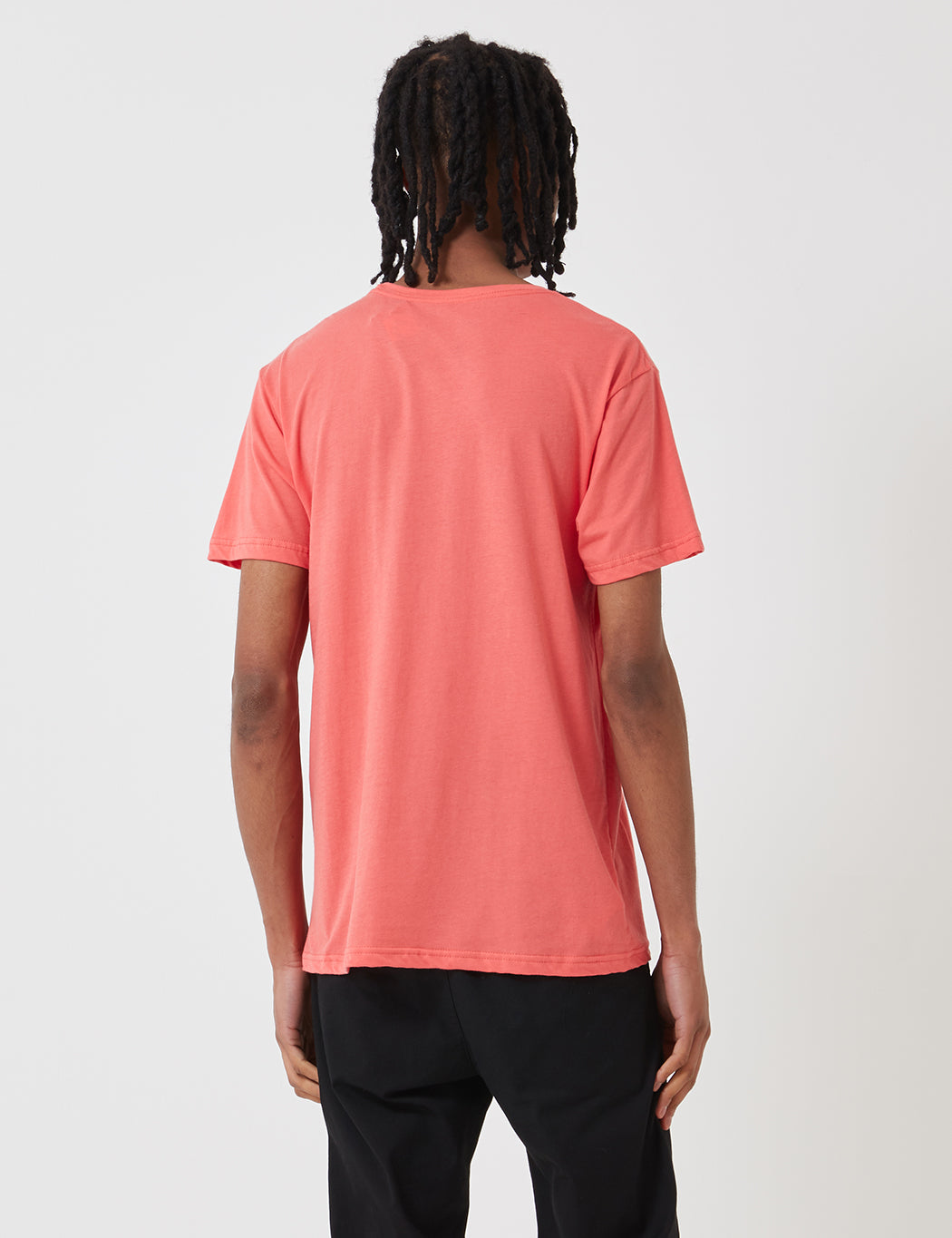 THE NORTH FACE Spiced Coral Short Sleeve Logo T Shirt Top