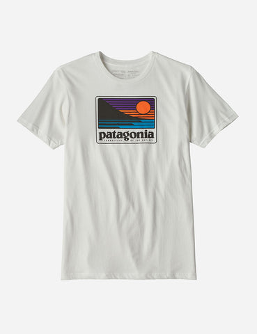 Patagonia Up and Out Organic T-Shirt - White