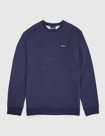 Patagonia P-6 Label Sweatshirt - Navy Blue