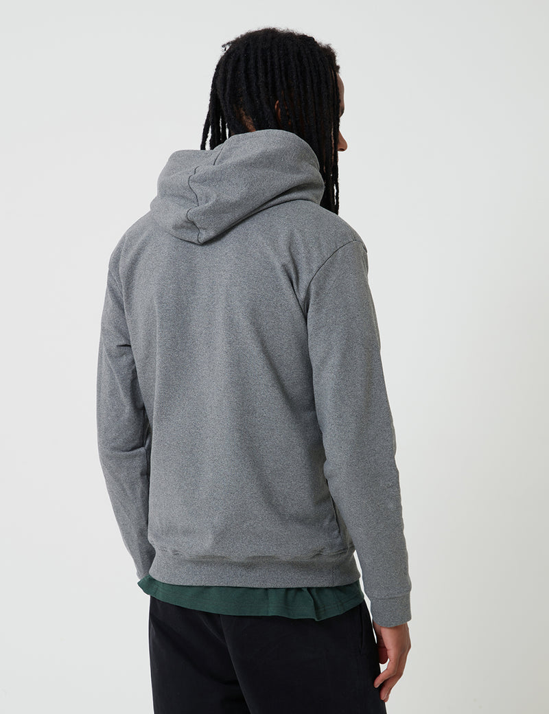 Patagonia P-6 Logo Uprisal Hoody - Grey Heather