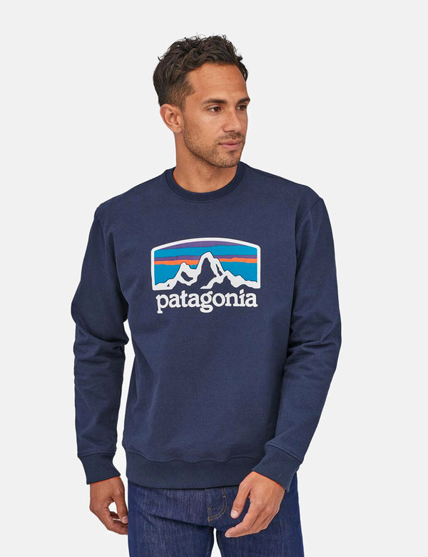 Sweat Patagonia Fitz Roy Horizons Uprisal - Classic Navy Blue