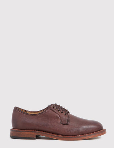 Hudson Daines Leather Shoes - Chocolate Brown