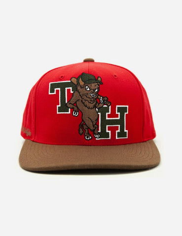 The Hundreds Dinger Snapback Cap - Red
