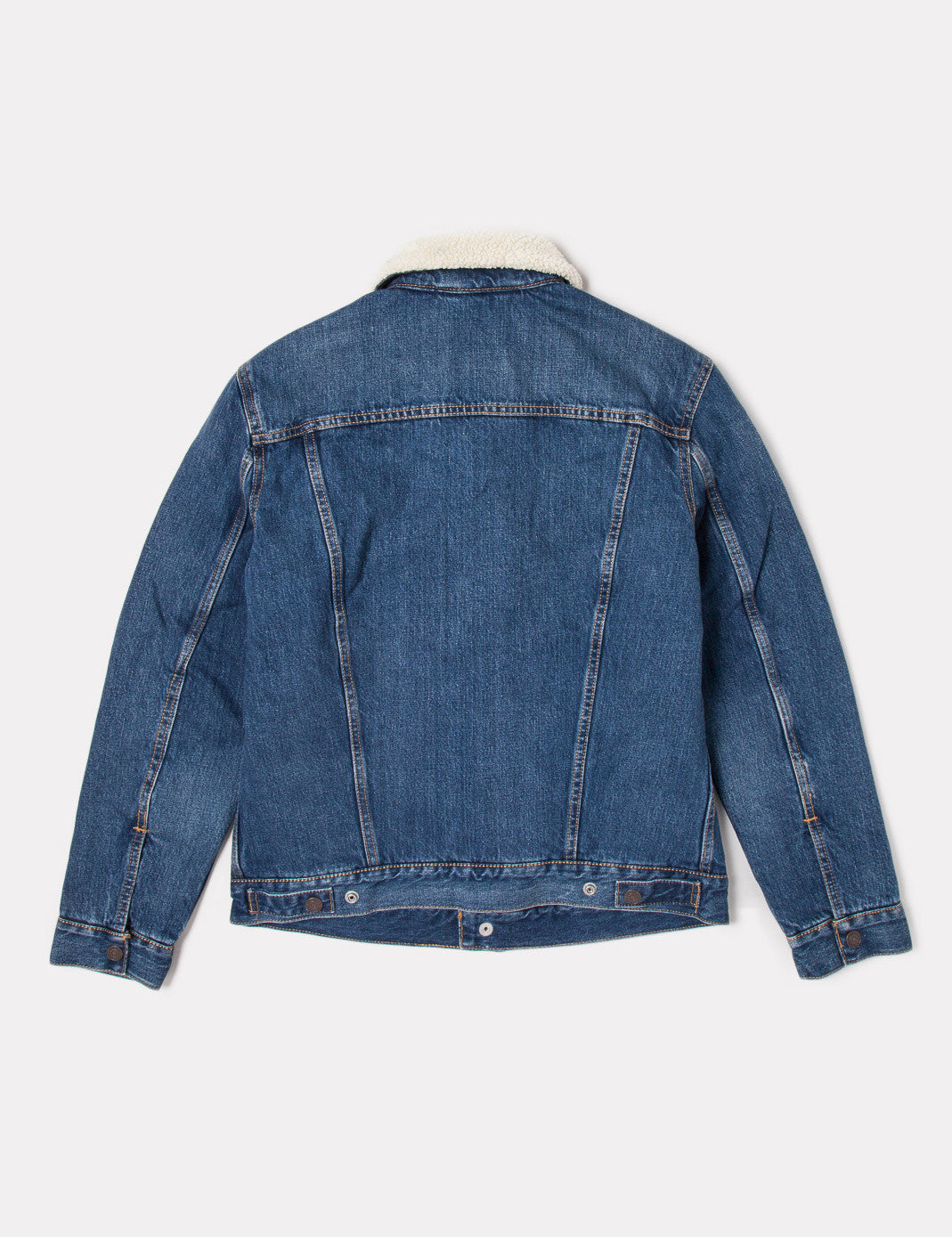 Levis Type 3 Sherpa Trucker Jacket - Johnny Blue