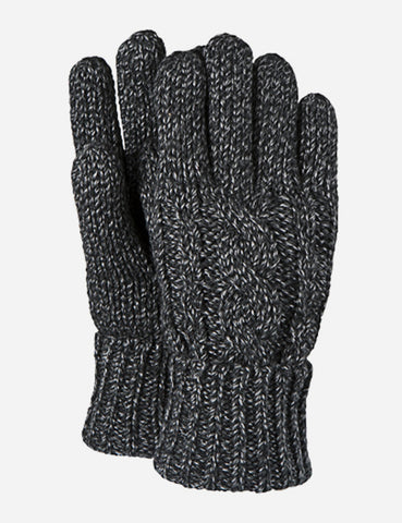Barts Twister Gloves - Black | URBAN EXCESS.