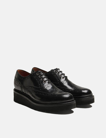 Womens Grenson Emily Brogue - Black
