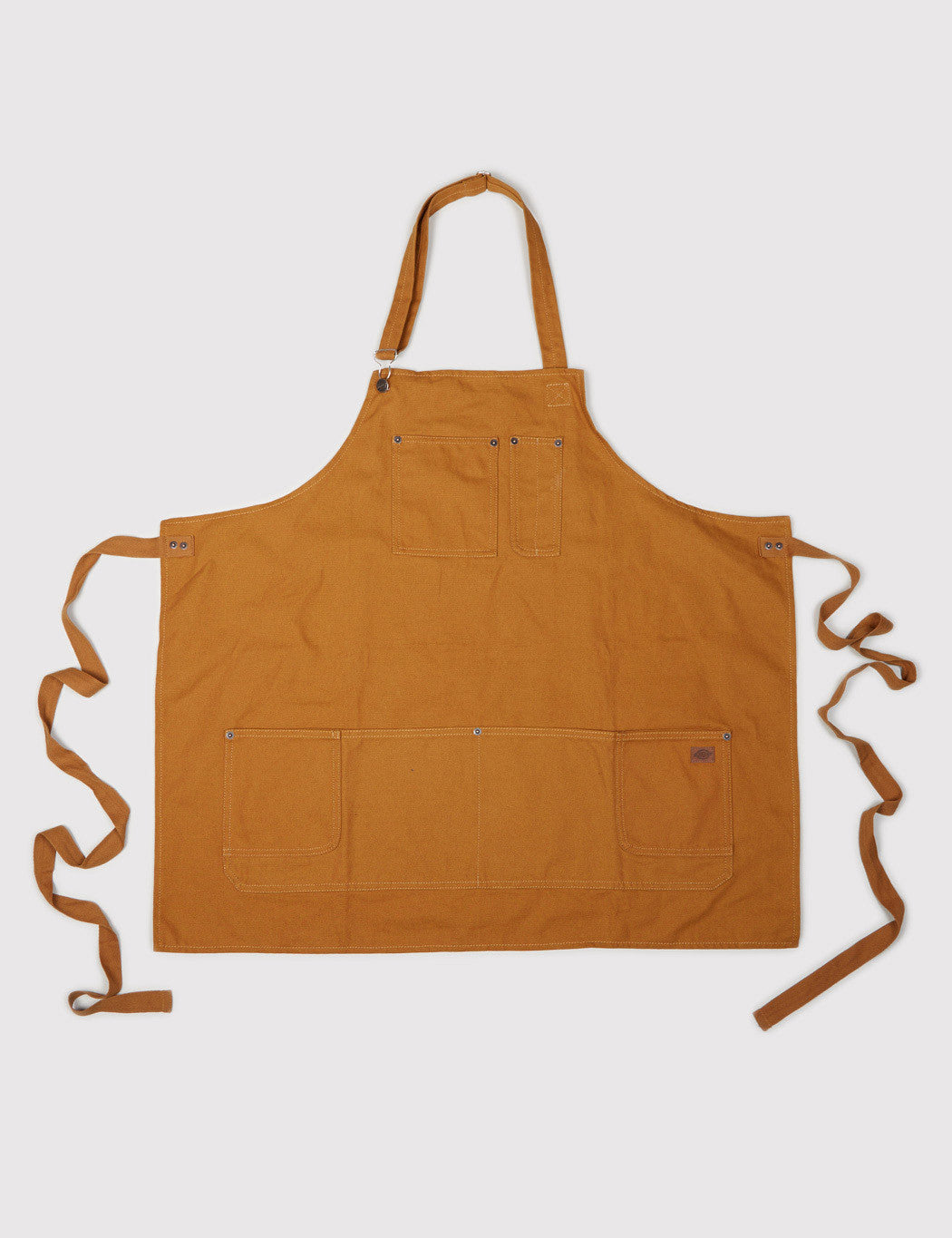Dickies Denim Apron - Brown Duck