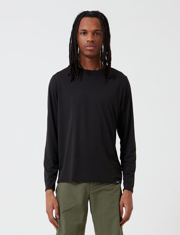 Patagonia Capilene Cool Daily Long-Sleeved T-Shirt - Black