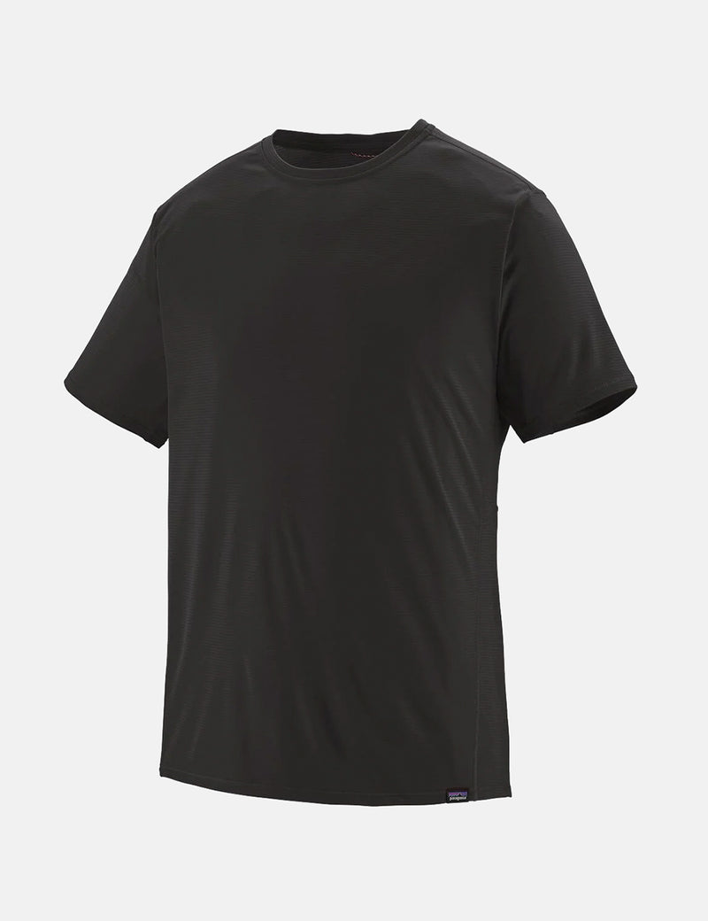 Patagonia Capilene Cool Lightweight T-Shirt - Black