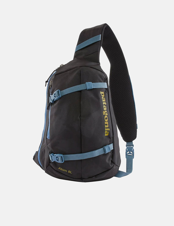 Patagonia Atom Sling Bag (8L, Painted Fields) - Noir
