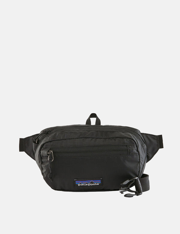 Patagonia Ultralight Black Hole Mini Gürteltasche - Schwarz
