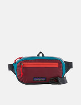 Patagonia Ultralight Black Hole Mini Hip Bag (Patchwork) - Roamer Red