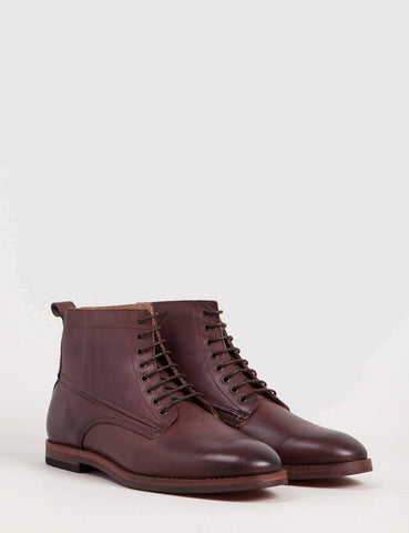 Hudson Forge Leather Boot - Brown