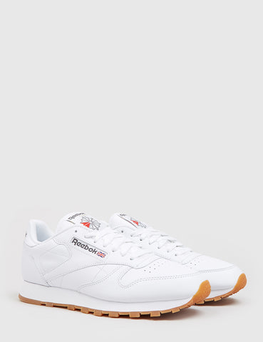 Reebok CL Classic Leather (49799) - White/Gum