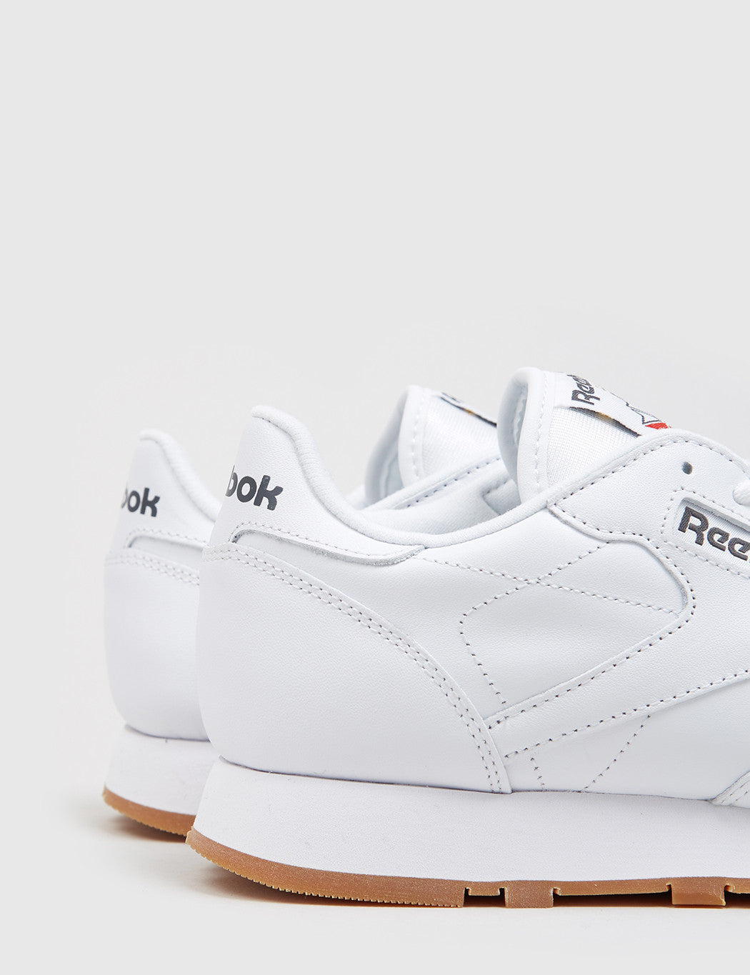 Reebok CL Classic Leather - White/Gum
