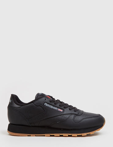 Reebok CL Classic Leather (49800) - Black/Gum