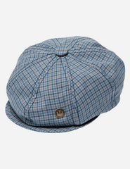 Goorin Fillipo Tweed Newsboy Cap - Blue