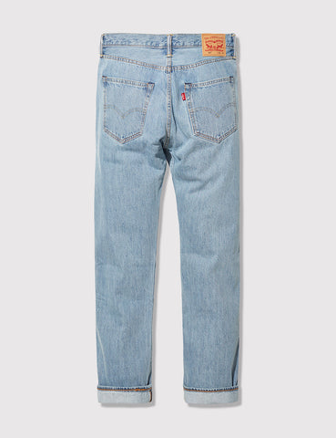 Levis 501 Straight Fit Jeans - Light Broken In