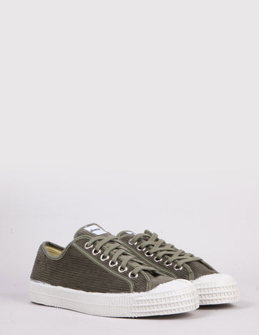 Novesta Star Master Corduroy Trainers - Military