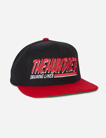 The Hundreds Swish Snapback Cap - Black