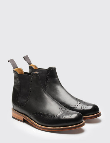 Grenson Jacob Chelsea Boot - Black
