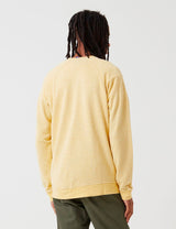 Patagonia Trail Harbour Crew Neck Sweatshirt - Surfboard Yellow/Resin Yellow