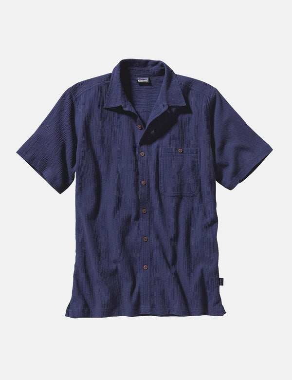Patagonia A/C Buttondown Shirt - Classic Navy