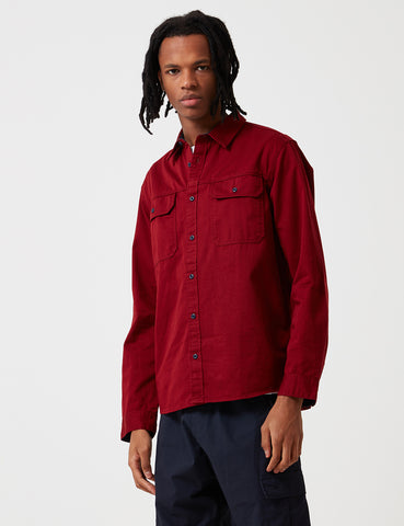 Patagonia Long Sleeve Four Canyons Twill Shirt - Oxide Red