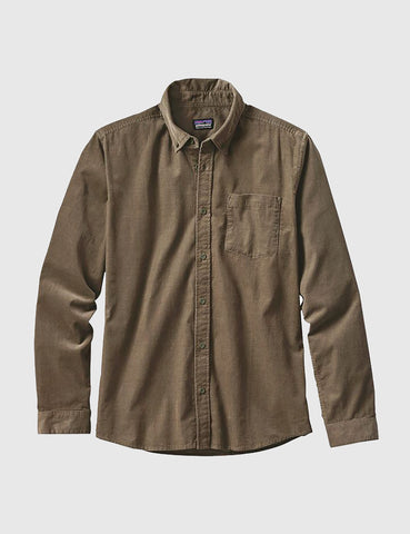 Patagonia Bluffside Cord Shirt - Dark Ash