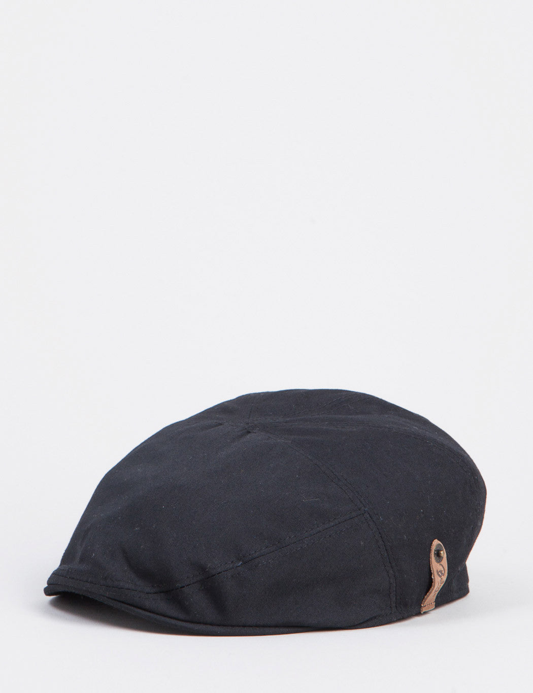 Bailey Graham Waterproof Ivy Flat Cap - Black