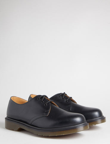 Dr Martens 1461 PW Shoes - Black Smooth