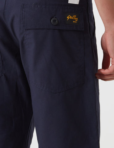 Stan Ray 4 Pocket Shorts (Loose) - Navy Blue