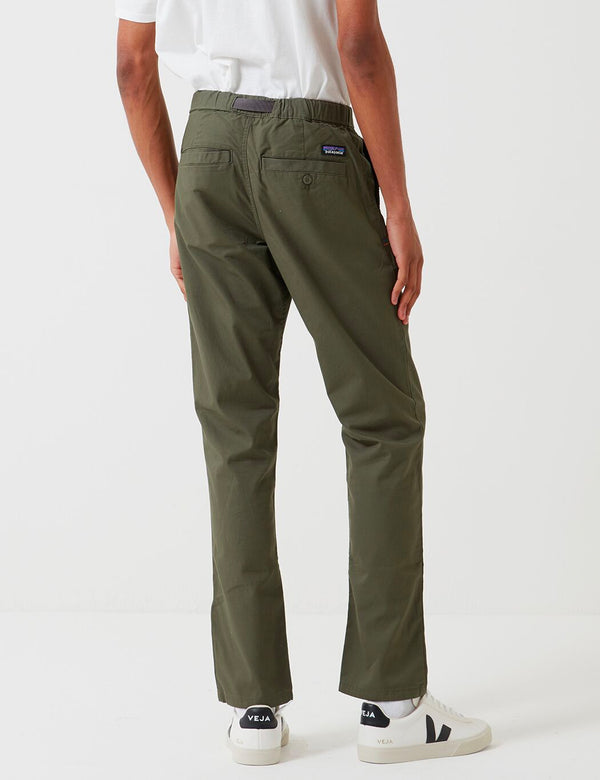 Patagonia Organic Cotton Gi Pants (Lightweight) - Industrial Green