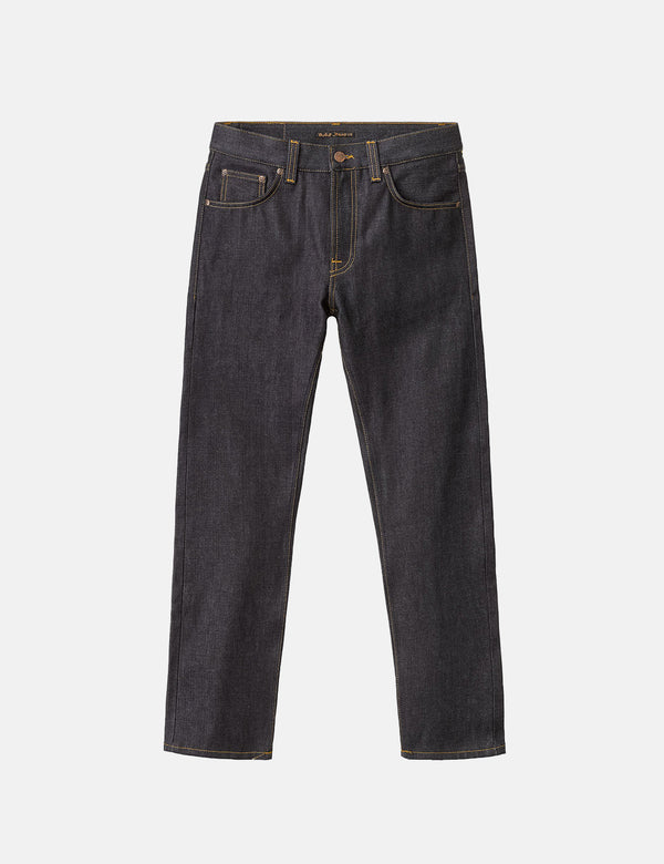 Jean Nudie Gritty Jackson (Régulier) - Dry Classic Navy